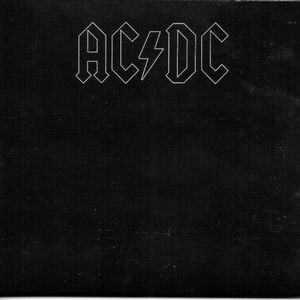 ac dc back in black remastered cd + pc graphics